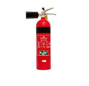 fire extinguisher new co2 nozzle design