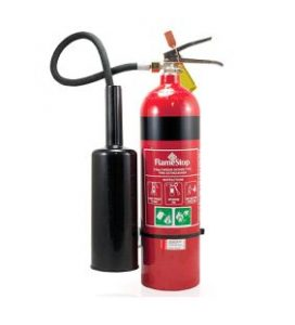 fire extinguisher - old co2 design